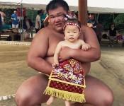 いっちゃんさん「赤ちゃんの土俵入り出たよ!」