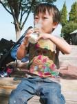 P太郎さん「牛乳大好き!!」