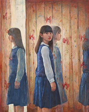 受験科OB、OG6名による絵画展